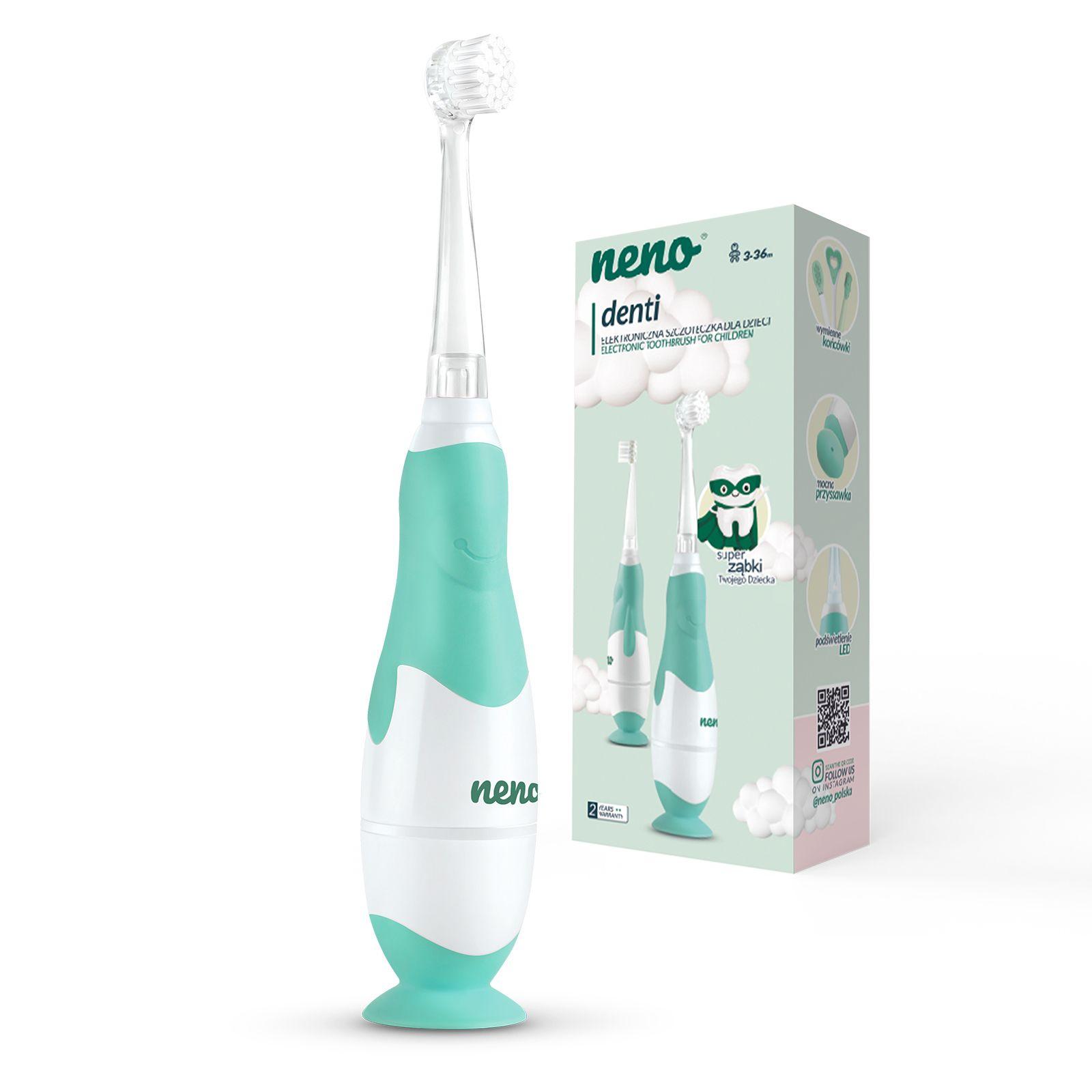 Elektronska zobna ščetka za otroke NENO Denti