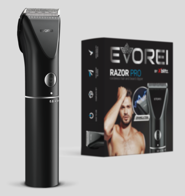 Brivnik EVOREI Razor PRO za lase in brado